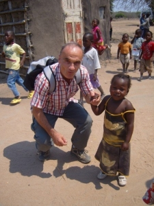 A photo of my dad that I took whilst we were in Mozambique with Samaritan's Purse