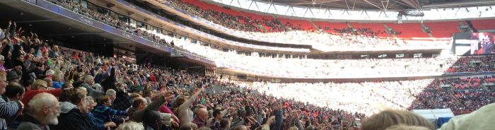 40,000 Christians filled Wembley to pray - Sept 2012. . We can all do the stuff