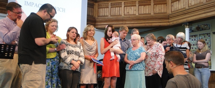 Gathering to pray as a Impact launches asa misional family